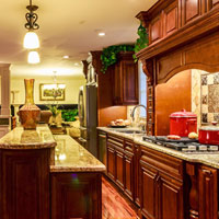 Cambridge Merlot Kitchen Cabinets