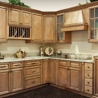Cinnamon Spice Kitchen Cabinets