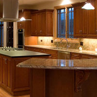 Classic Cherry Kitchen Cabinets