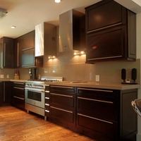 Espresso Maple Kitchen Cabinets