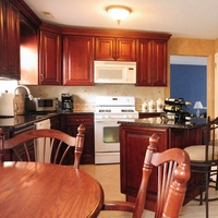 Mahogany Maple Kitchen Cabinets