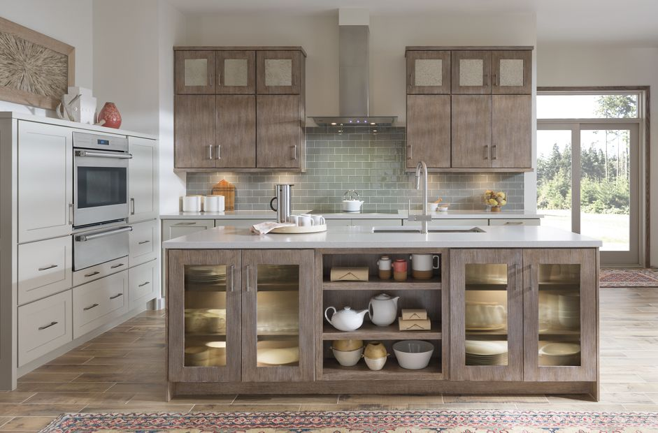 Medallion Cabninetry Bella And Misson Kitchen Cabinets