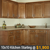 Quincy Brown Kitchen Cabinets