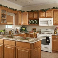 Randolf Oak Kitchen Cabinets