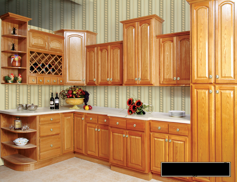 Oak Cabinet Kitchen NEA Cabinets Roman Oak Kitchen Cabinets