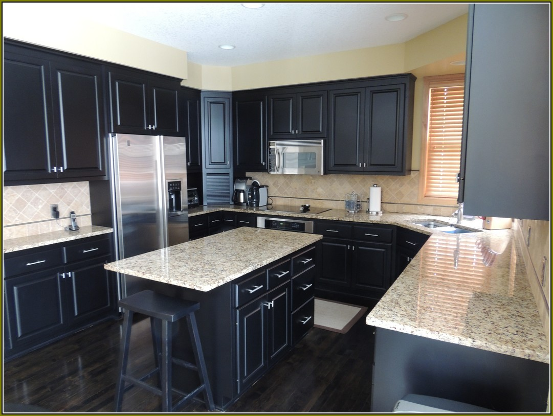 Your home improvements refference espresso kitchen cabinets with - Saginaw Dark Sable Kitchen Cabinets Of