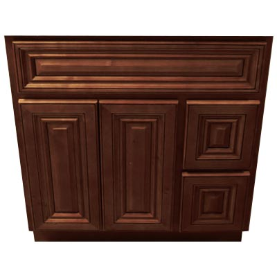 Signature Brownstone Vanity Cabinets