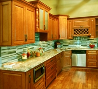 Spice Maple Kitchen Cabinets