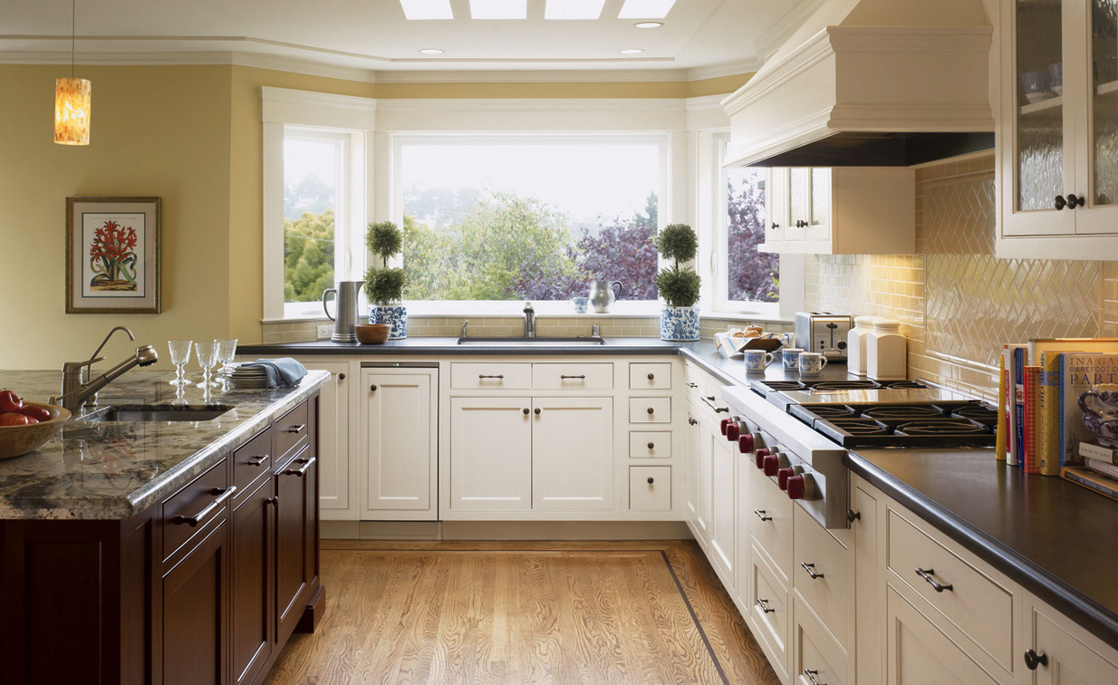 Ultima Maple Oyster Kitchen Cabinets