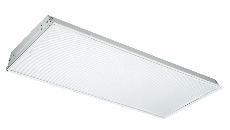 Filter UV Light From Fluorescent Bulbs Drop Ceiling Flush Mounted Office Li