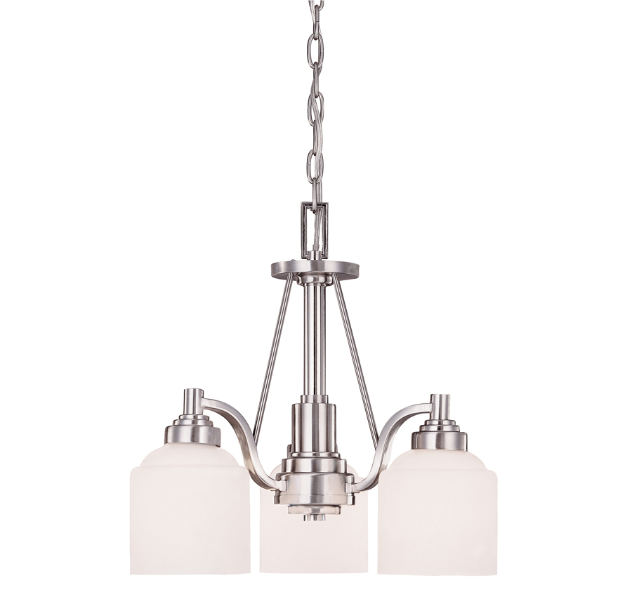 Contempo Trends Wilmont 3 Light Chandelier - 1-4649-3-69