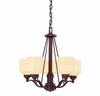 Contempo Trends Wilmont 5 Light Chandelier - 1-4652-5-13