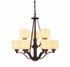 Contempo Trends Wilmont 9 Light Chandelier - 1-4653-9-13