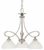 Denmark- Contemporary Style Denmark Chandelier In Imperial Silver Finish From Quoizel Lighting- DK5103IS