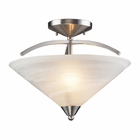 "ELK Lighting (7633/2) Elysburg 16"" Semi-Flush Mount"