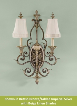 English Palace Collection Wall Bracket from Murray Feiss Lighting -WB1302