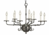 Framburg Lighting (2379) 9-Light Jamestown Dining Chandelier