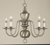 Framburg Lighting (2525) Five Light Chandelier from the Jamestown Collection
