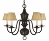 Framburg Lighting (2535) 5-Light Jamestown Dining Chandelier
