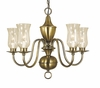 Framburg Lighting (2545) 5-Light Jamestown Dining Chandelier