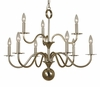 Framburg Lighting (2249) 9-Light Jamestown Dining Chandelier