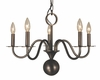 Framburg Lighting (2245) 5-Light Jamestown Dining Chandelier