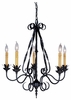 Framburg Lighting - Galicia Dining Chandeliers in Charcoal - FBG-1815