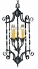 Framburg Lighting - Galicia Foyer Chandeliers in Charcoal - FBG-1575