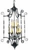 Framburg Lighting - Galicia Foyer Chandeliers in Charcoal - FBG-1578