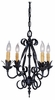 Framburg Lighting - Galicia Mini Chandeliers in Charcoal - FBG-1814
