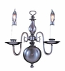 Framburg Lighting (9122) Two Light Sconce from the Jamestown Collection