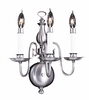 Framburg Lighting (9123) Three Light Sconce from the Jamestown Collection