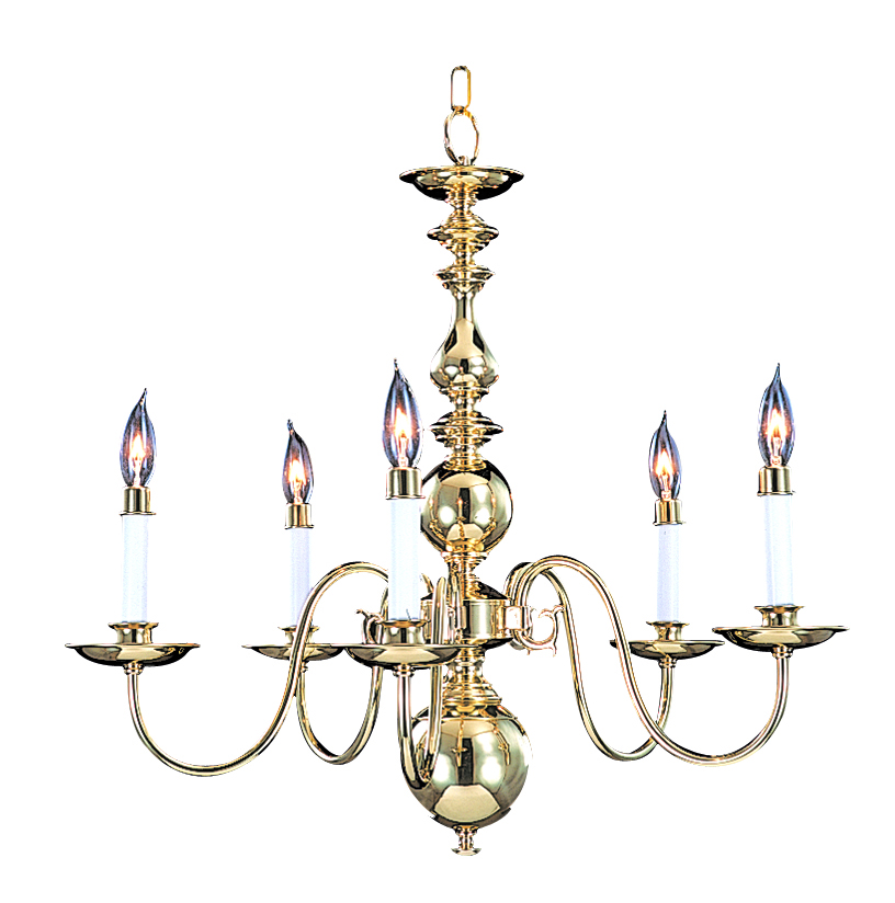 Framburg Lighting (9126) 5-Light Jamestown Dining Chandelier