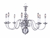 Framburg Lighting (9130) Eight Light Chandelier from the Jamestown Collection