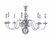Framburg Lighting (9130) 8-Light Jamestown Dining Chandelier