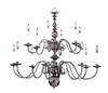 Framburg Lighting (9135) 14-Light Jamestown Foyer Chandelier