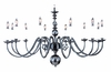 Framburg Lighting (9142) 12-Light Jamestown Foyer Chandelier