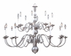 Framburg Lighting (9138) Twenty Light Chandelier from the Jamestown Collection