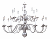 Framburg Lighting (9138) 20-Light Jamestown Foyer Chandelier
