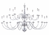 Framburg Lighting (9145) Twenty Light Chandelier from the Jamestown Collection