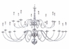 Framburg Lighting (9145) 20-Light Jamestown Foyer Chandelier
