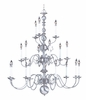 Framburg Lighting (9148) Eighteen Light Chandelier from the Jamestown Collection