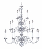 Framburg Lighting (9148) 18-Light Jamestown Foyer Chandelier