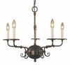 Framburg Lighting (2375) 5-Light Jamestown Dining Chandelier