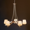 Hubbardton Forge (104105) 5 Light Ribbon Chandelier