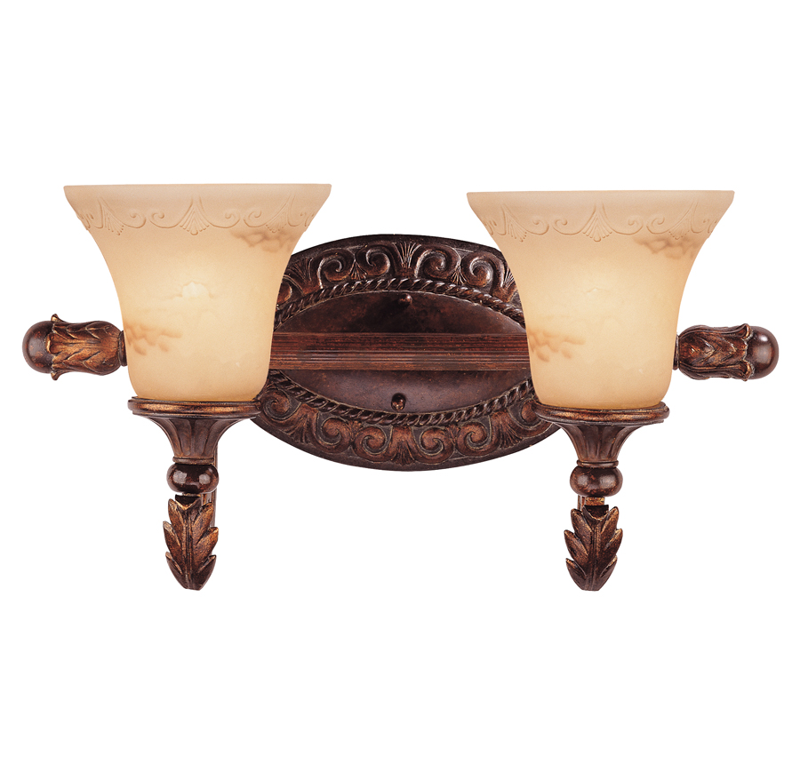 Loire Valley Gallant 2 Light Bath Bar - 8-36753-2-76