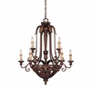 Loire Valley Gallant 9 Light Chandelier - 1-36750-9-76