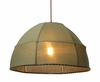Marble Collection Pea Green Ceiling Lamp shown in Metal by Zuo Modern
