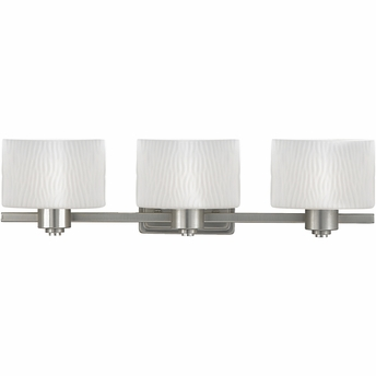 Modern Bathroom Lights on Pacifica  Contemporary Style Pacifica Bath Fixture In Empire Silver