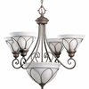 Progress Lighting Verona Collection Chandeliers Light- P4047-33
